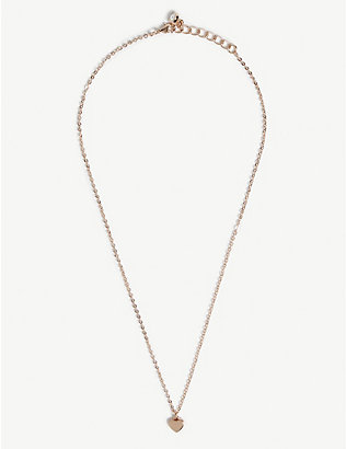TED BAKER: Hara heart pendant necklace