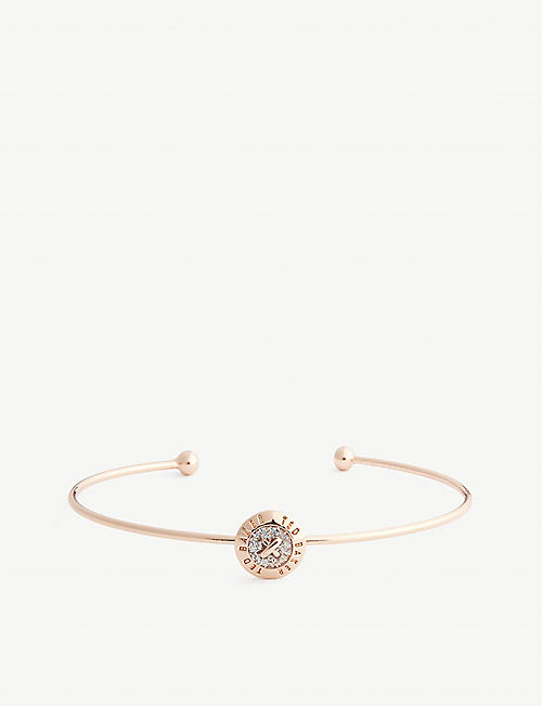TED BAKER: Elvas mini enamel button bangle