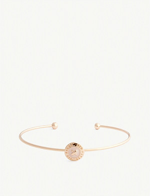 TED BAKER Elvas mini enamel button bangle