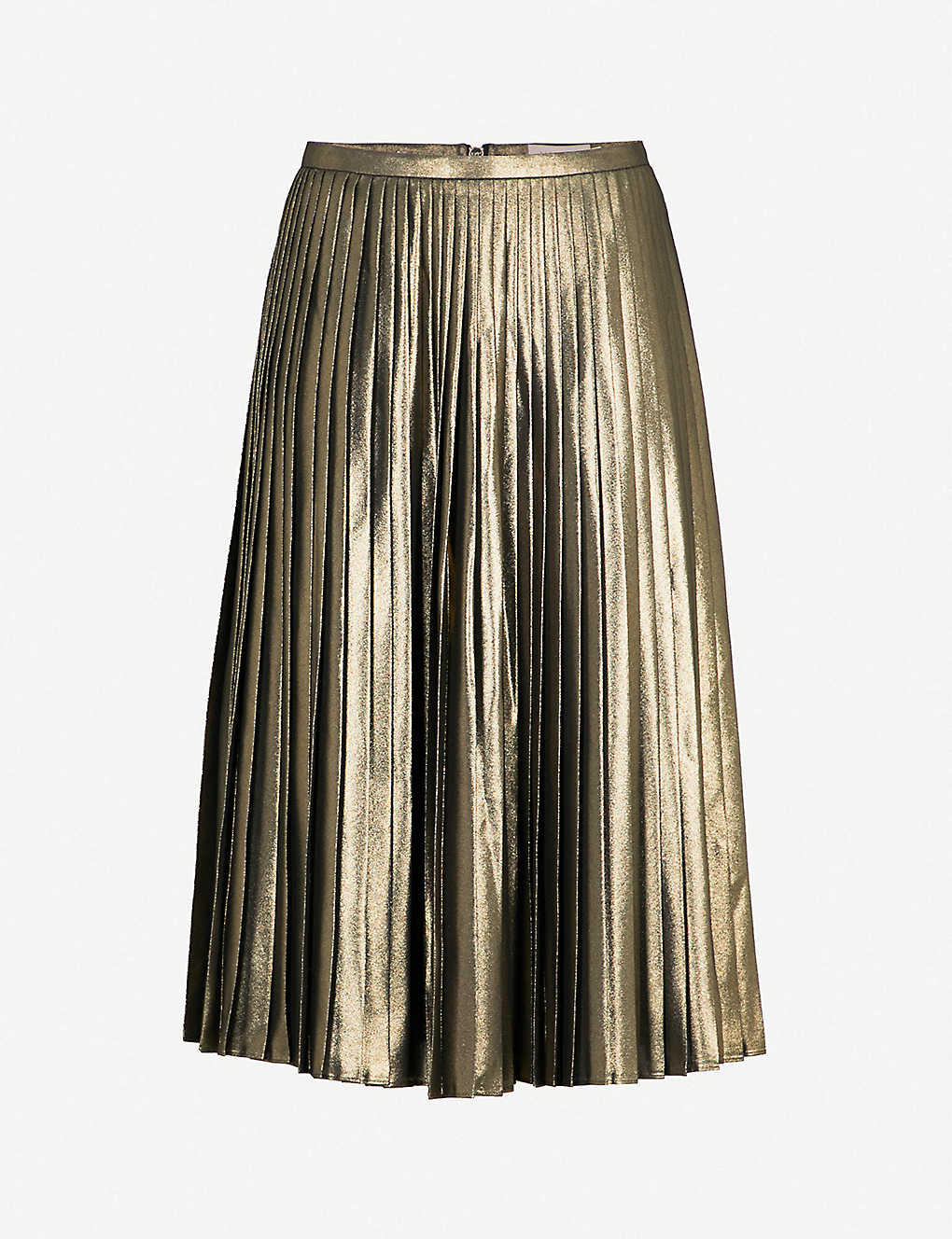 cc87d4b771 Metallic Pleated Skirts Online India