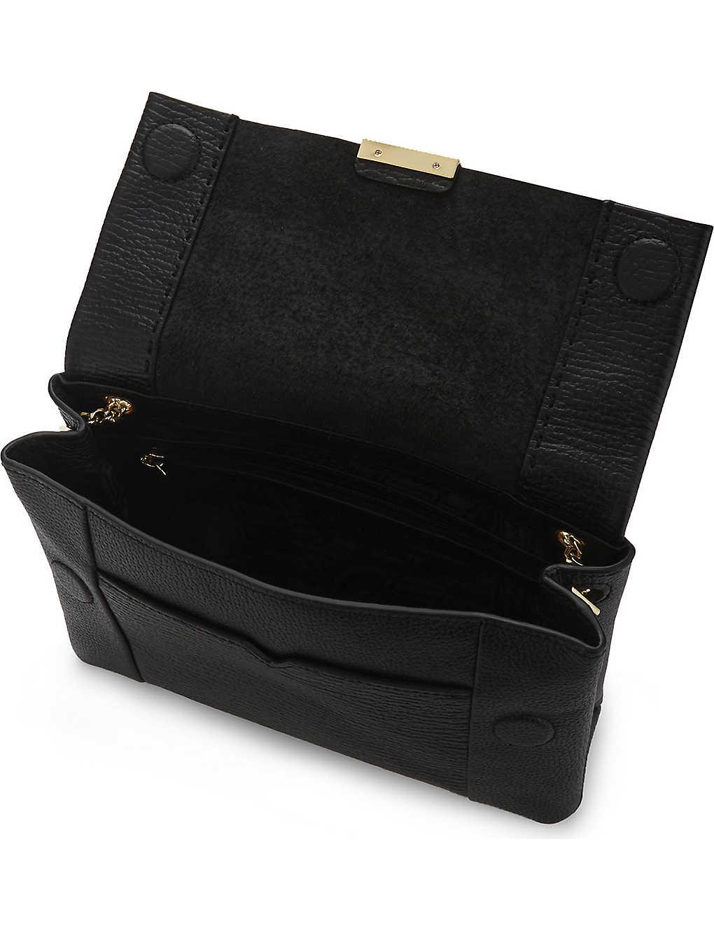 8a5c5a9144 TED BAKER - Parson leather cross-body bag | Selfridges.com