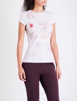 Ted Baker Womens Ted Baker Womens Tamraa Chelsea Fitted Tee
