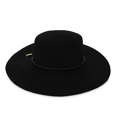 TED BAKER - Alizza rope trim flat-brimmed hat  c3860e8b29b