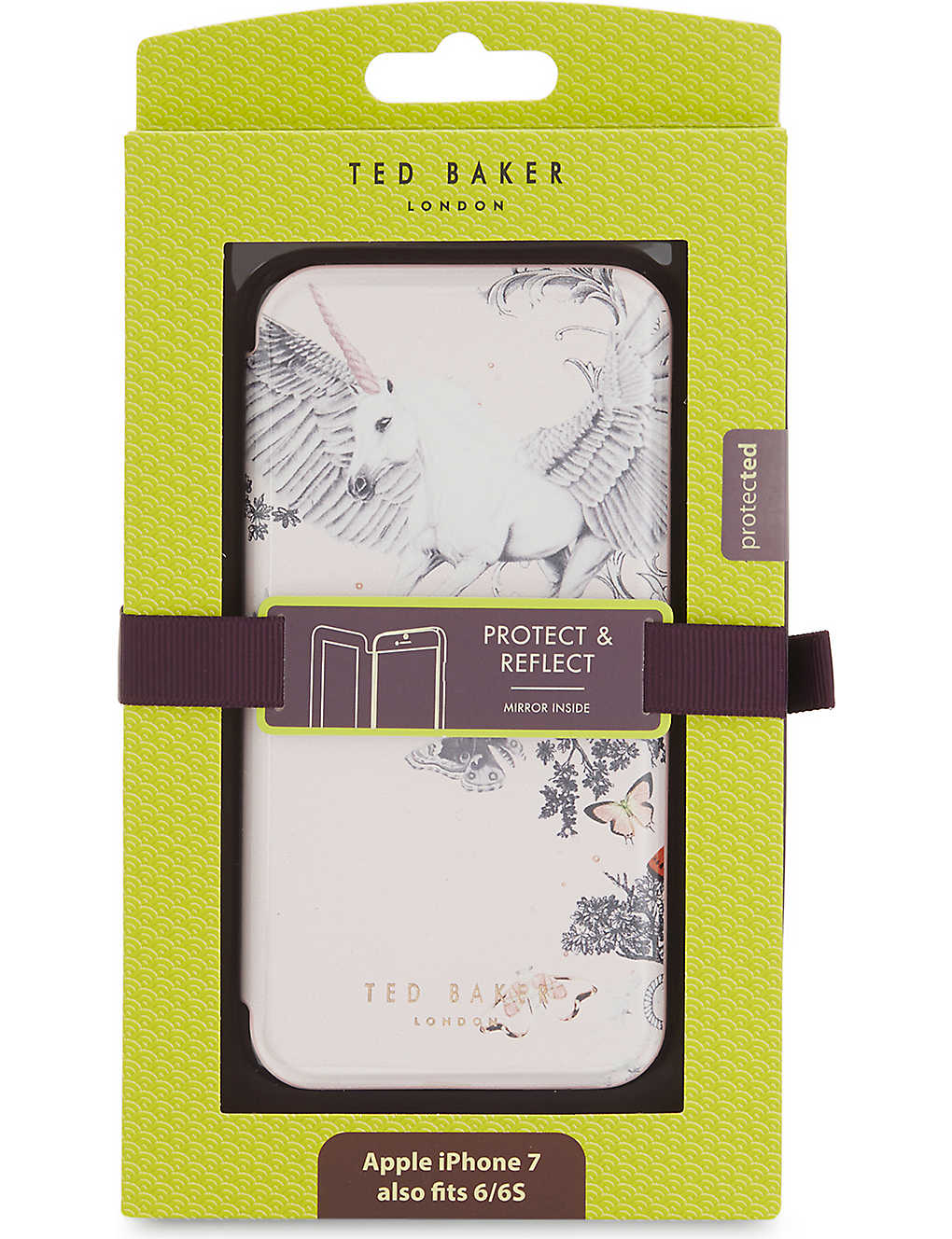 online store b5a9d de25a TED BAKER - Enchanted Dream iPhone X mirror case | Selfridges.com