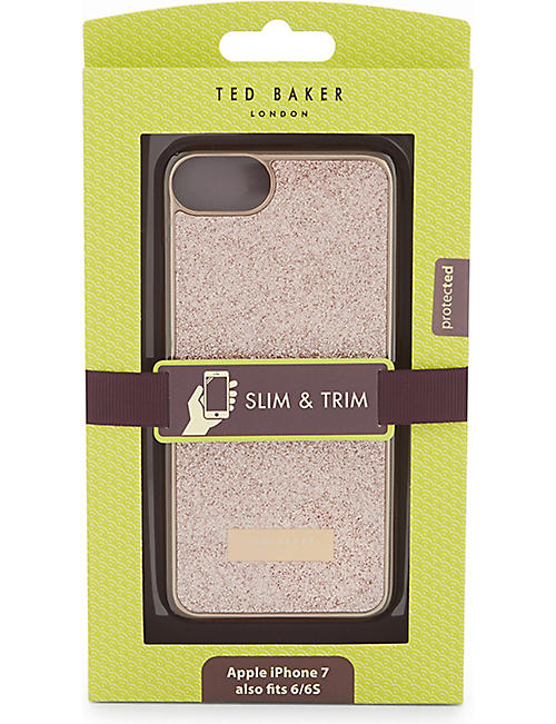 TED BAKER Sparkls glitter iPhone case