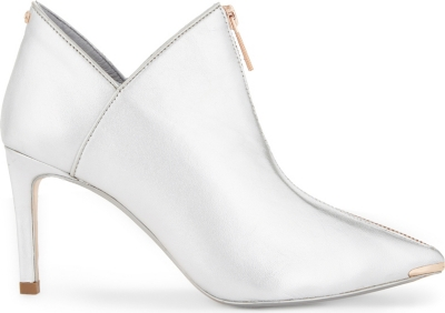 e08e189ff TED BAKER - Millae metallic leather ankle boots