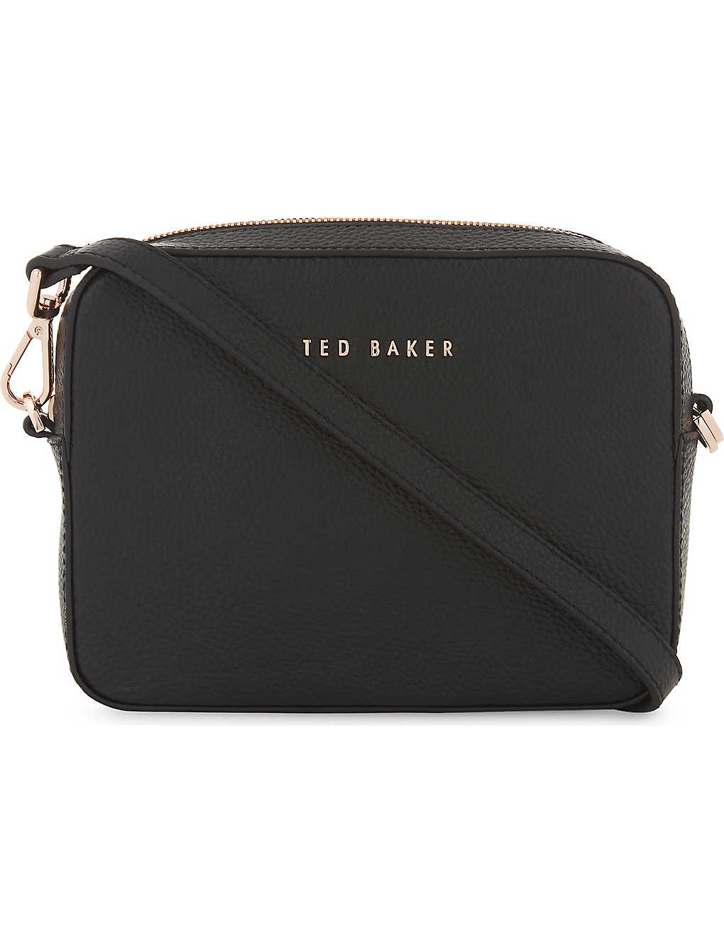 ea7fc0c34dd TED BAKER - Darwina metallic leather camera bag | Selfridges.com