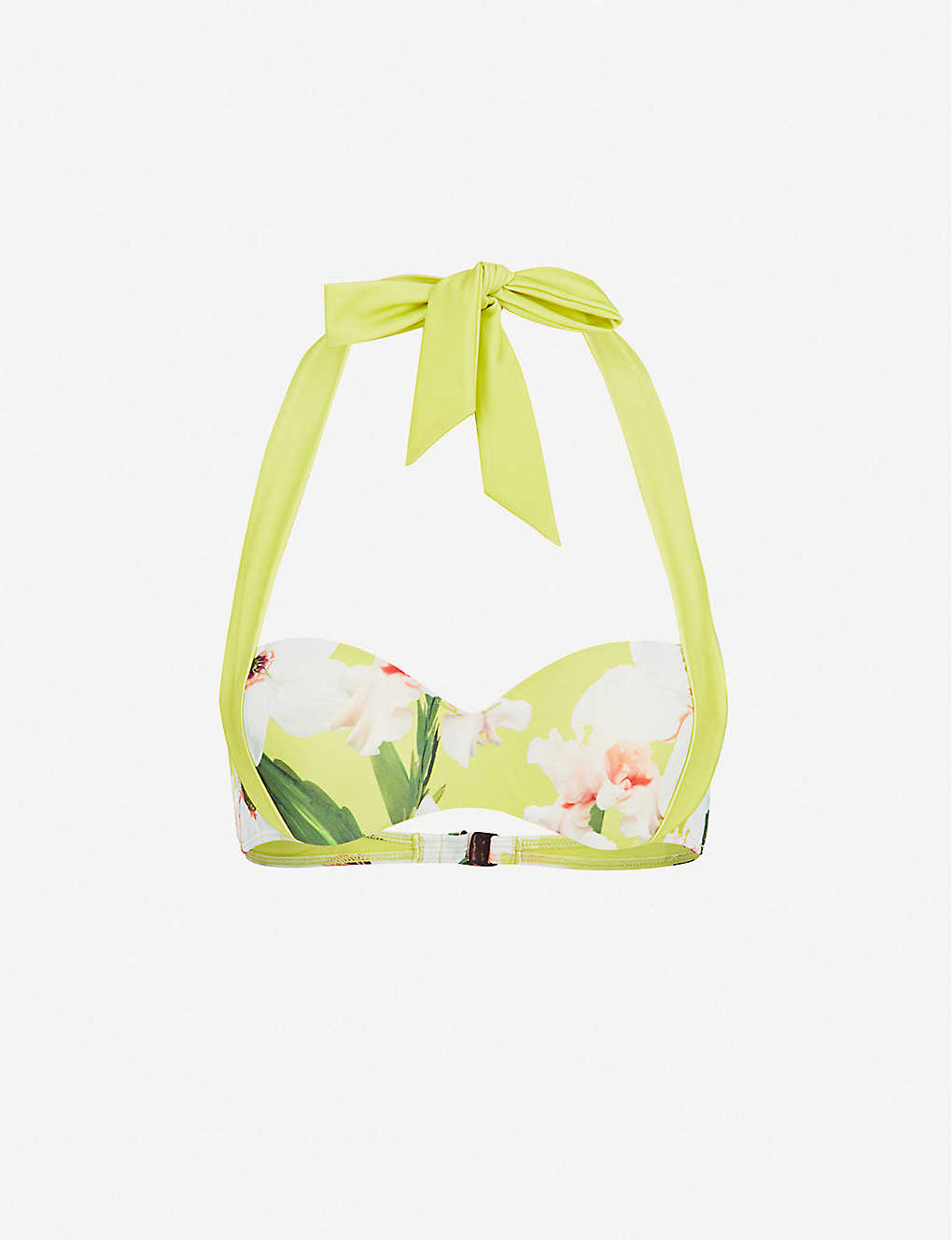 307c878f33d TED BAKER - Chatsworth Bloom floral-print bikini top | Selfridges.com