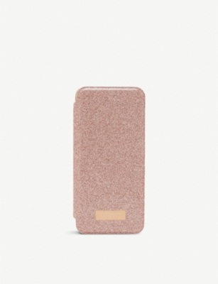 TED BAKER Glitter Samsung Galaxy S8 mirrored case