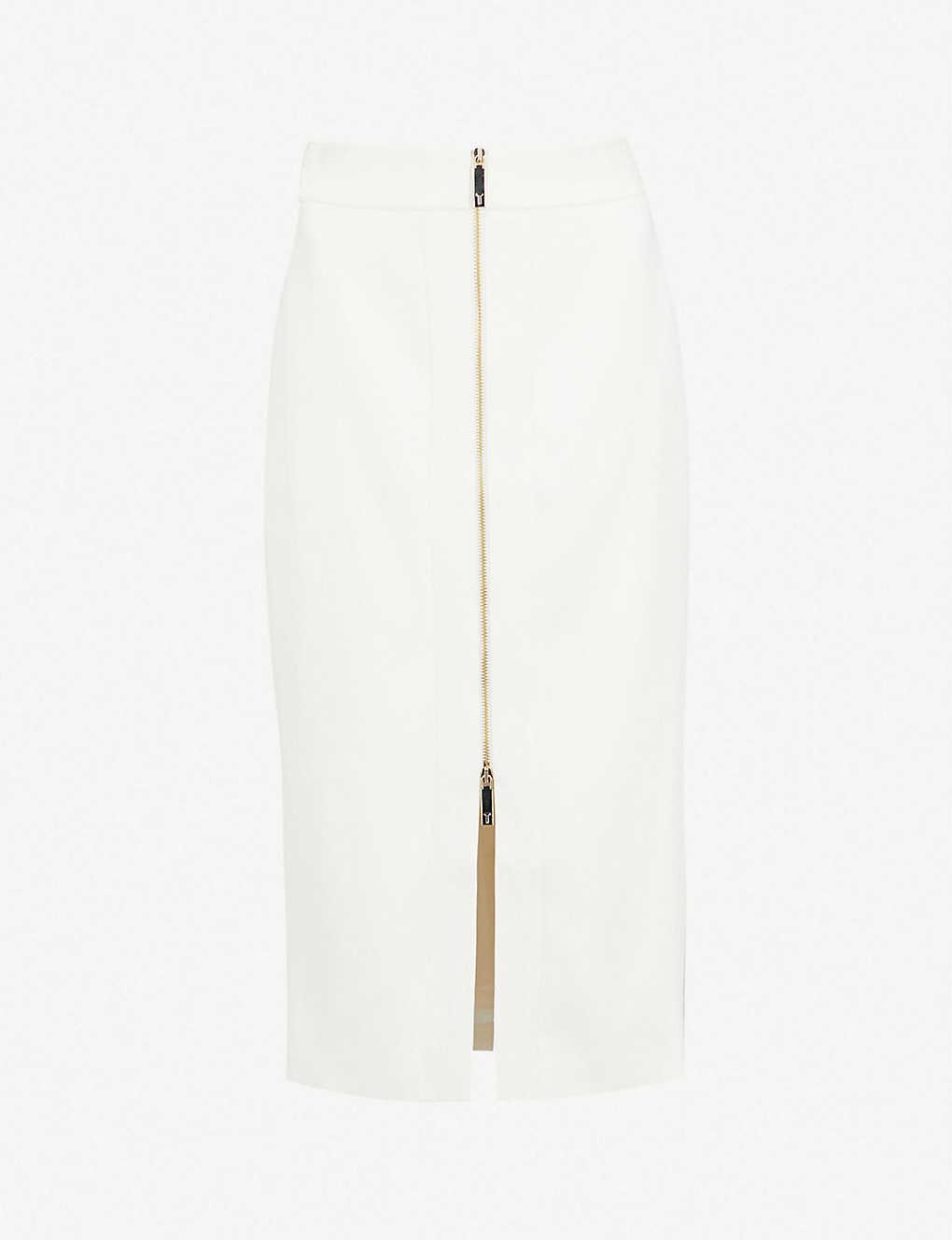 32a75345d TED BAKER - Rosci high-rise crepe pencil skirt | Selfridges.com
