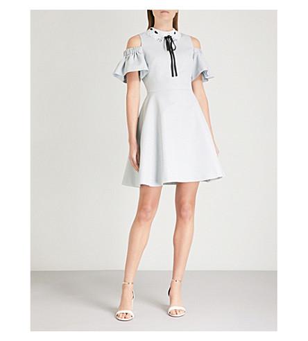 54e4a55040d96 Shop women s British fashion  TED BAKER Araye jacquard dress clearance sale  2e029 61786 ...