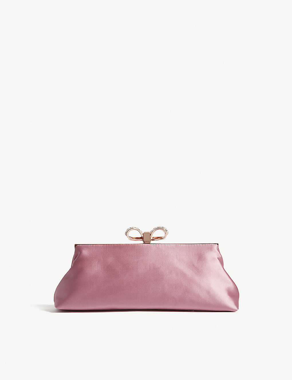 0ac854f172 TED BAKER - Georgaa embellished satin clutch bag | Selfridges.com