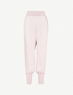 TED BAKER Ted Says Relax Aibrey relaxed-fit satin jogging bottoms