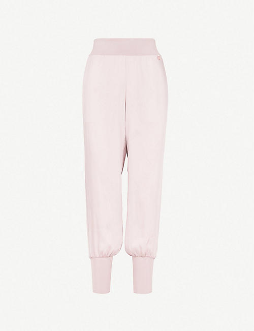 eb7a71b9b2c9 TED BAKER Ted Says Relax Aibrey relaxed-fit satin jogging bottoms