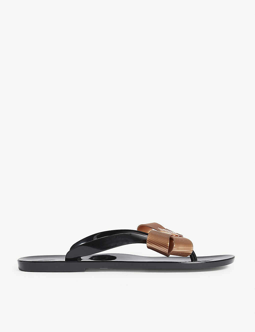 481a500623 TED BAKER - Suszie bow detail jelly sandals | Selfridges.com