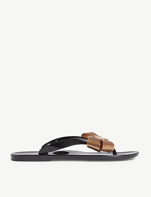 7045c7dbe TED BAKER Suszie bow detail jelly sandals