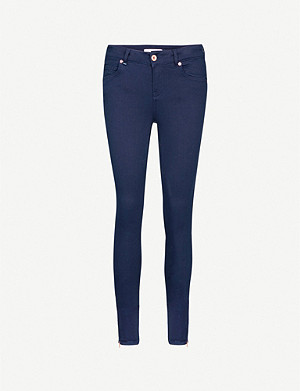 TED BAKER Skinny mid-rise jeans