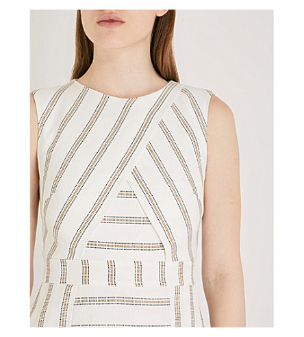 9cbce0b373b2a TED BAKER COLOUR BY NUMBERS CROSS FRONT SKATER DRESS