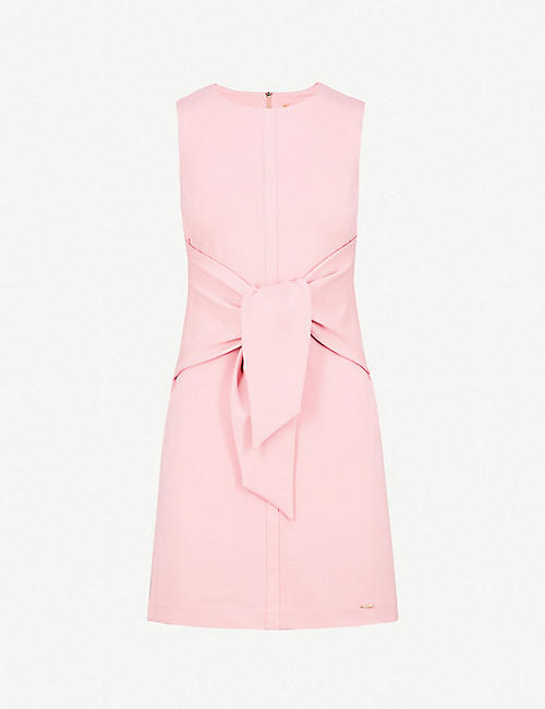 f1a21c1869c9 TED BAKER Knot-detail jersey dress