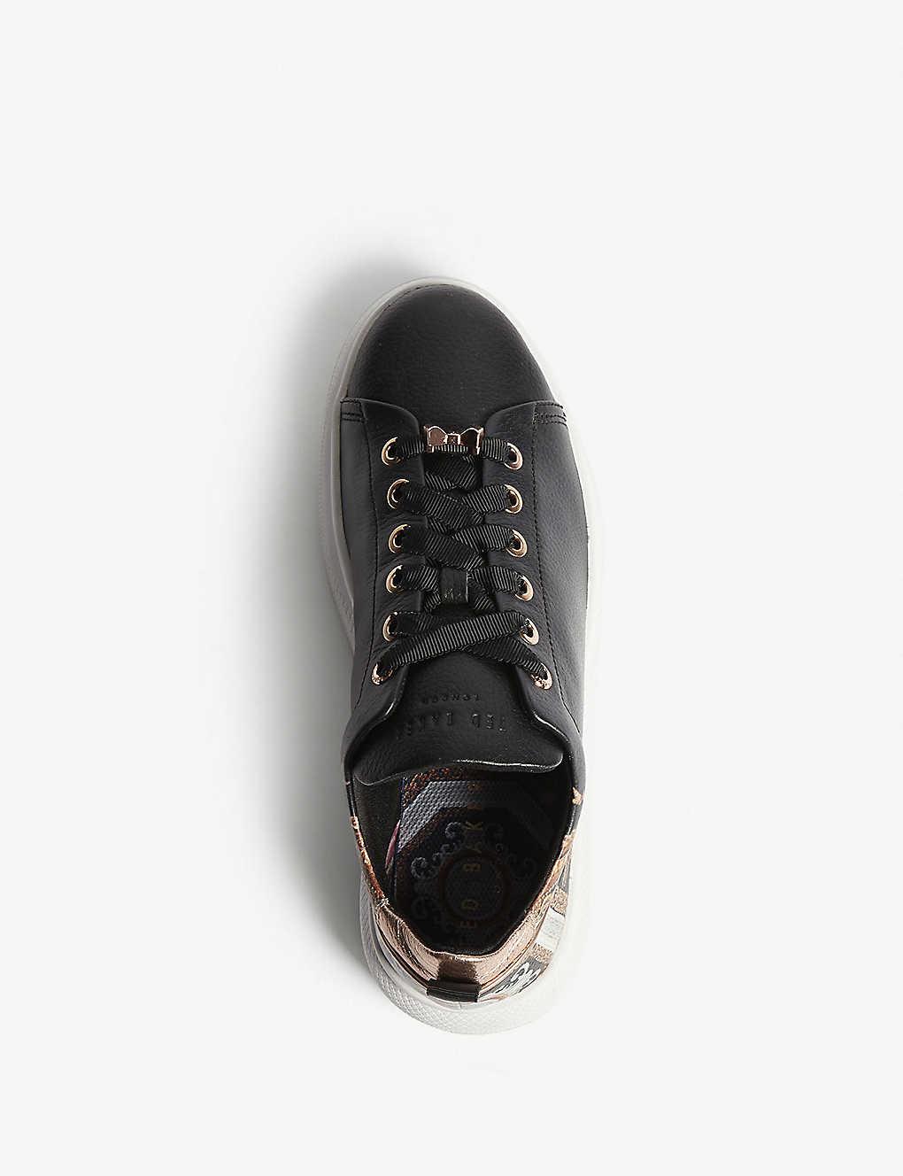 c190757931e9 Ailbe platform leather trainers  Ailbe platform leather trainers ...