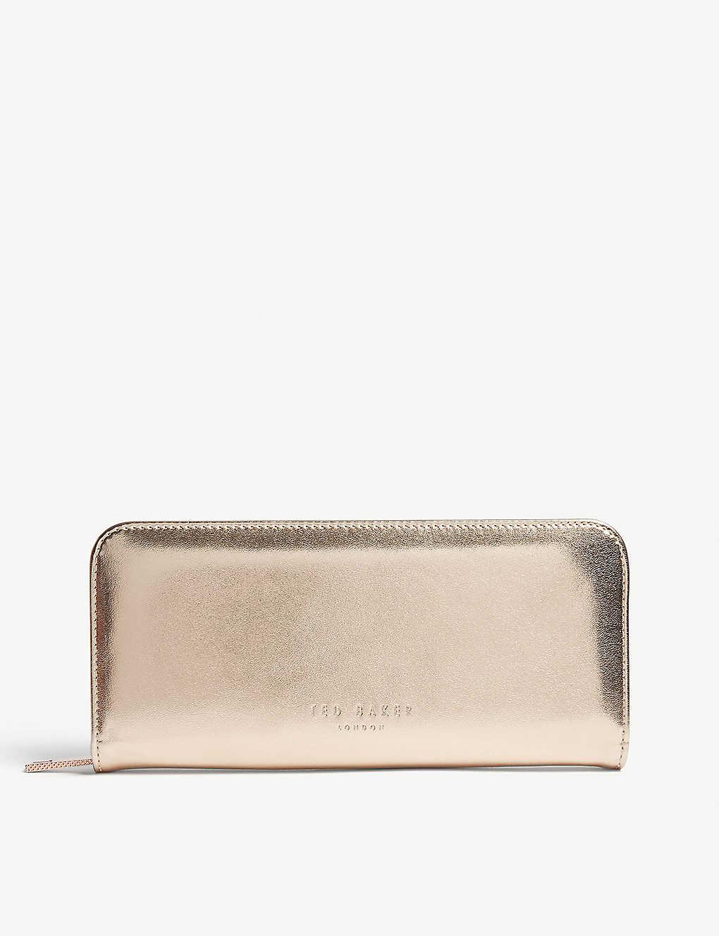 buy popular d6173 75e8c TED BAKER - Riyta filled metallic pencil case | Selfridges.com