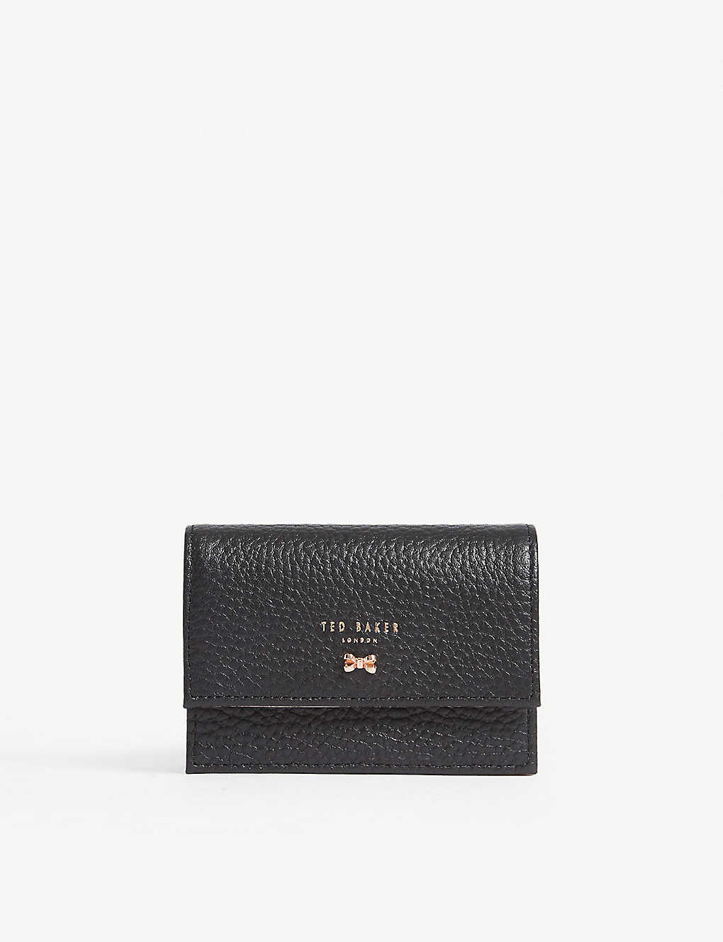 88b158cce3e8 TED BAKER - Eves textured leather concertina card holder ...