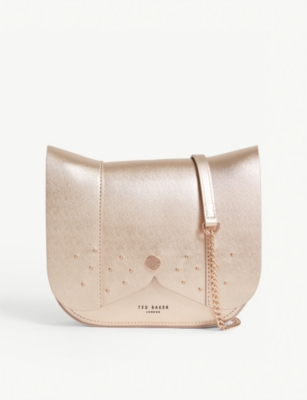 8b6e8bb3a TED BAKER - Dog leather cross-body bag | Selfridges.com