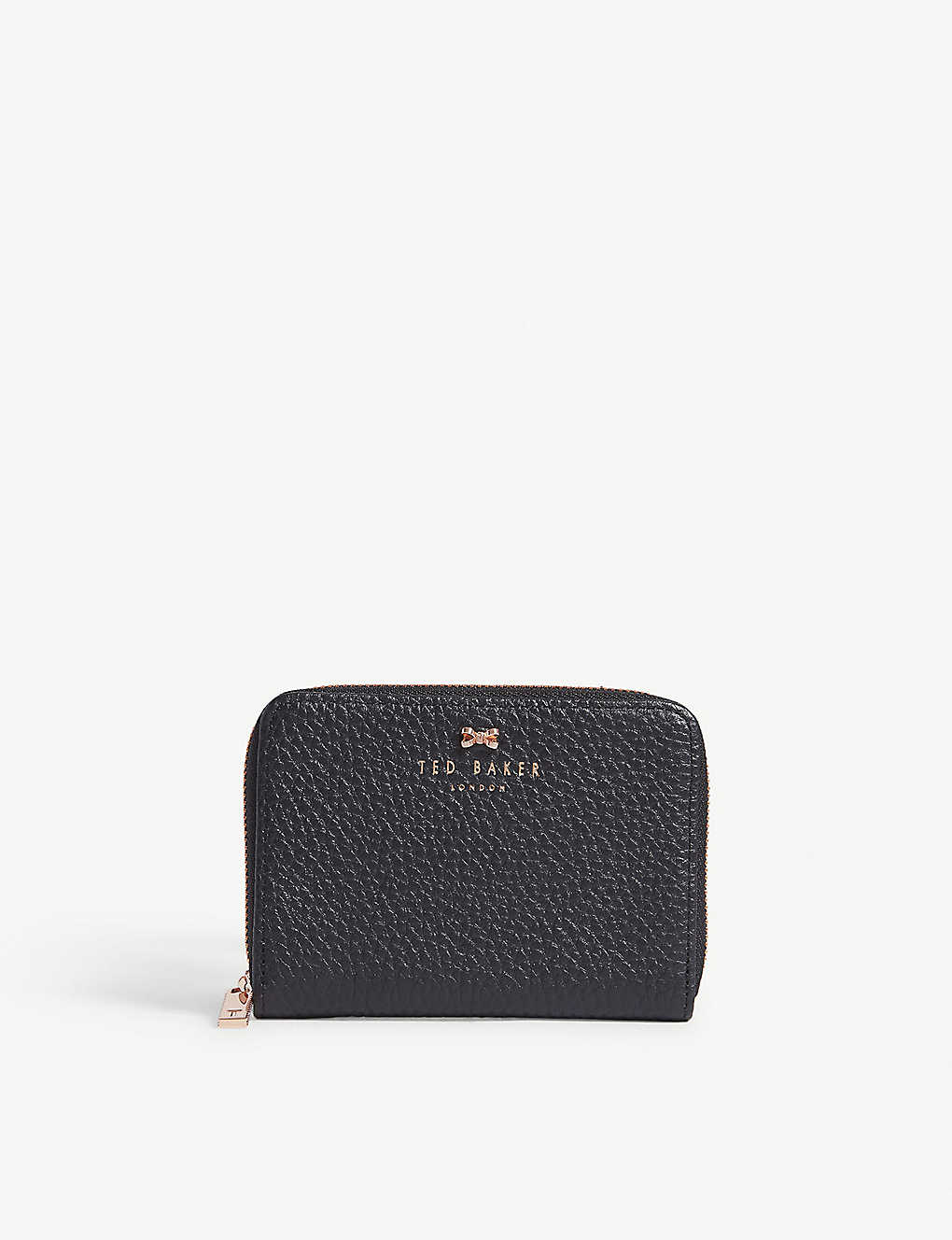 eaccd3c4a1d TED BAKER - Plie textured leather small zip purse | Selfridges.com
