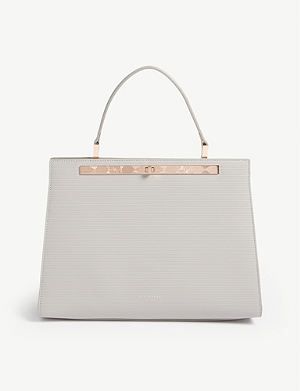 058512b0e8276 TED BAKER Aliicia top handle leather lady bag