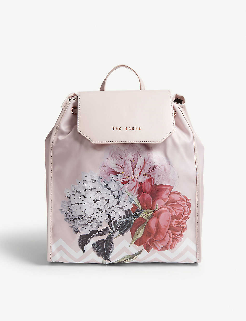 2af73aa4b TED BAKER - Emaa Palace Gardens print drawstring backpack ...