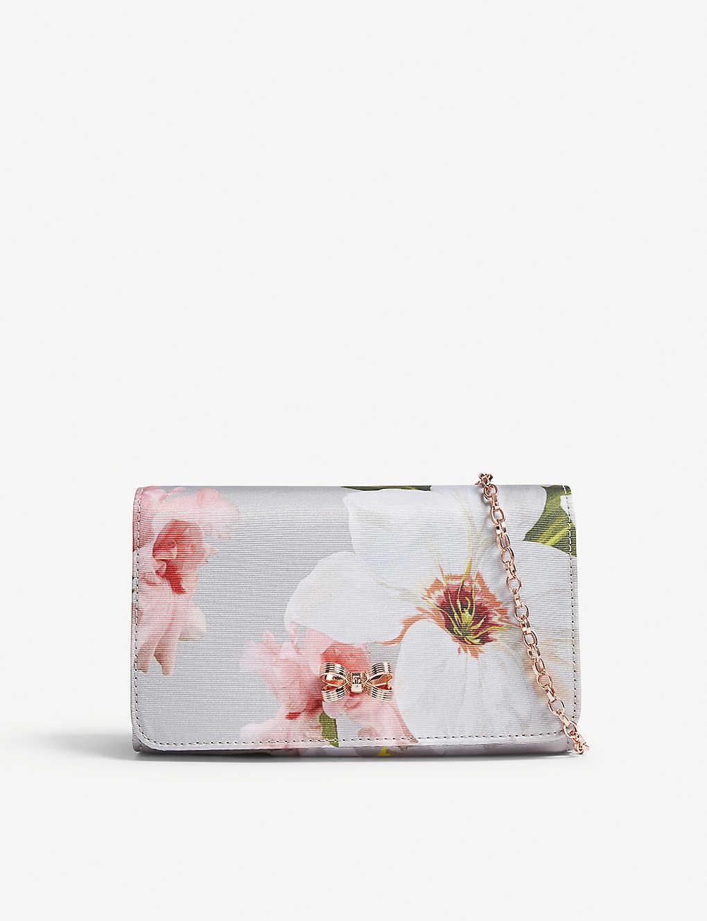9a523a1c503 TED BAKER - Melodie floral print cross-body bag | Selfridges.com