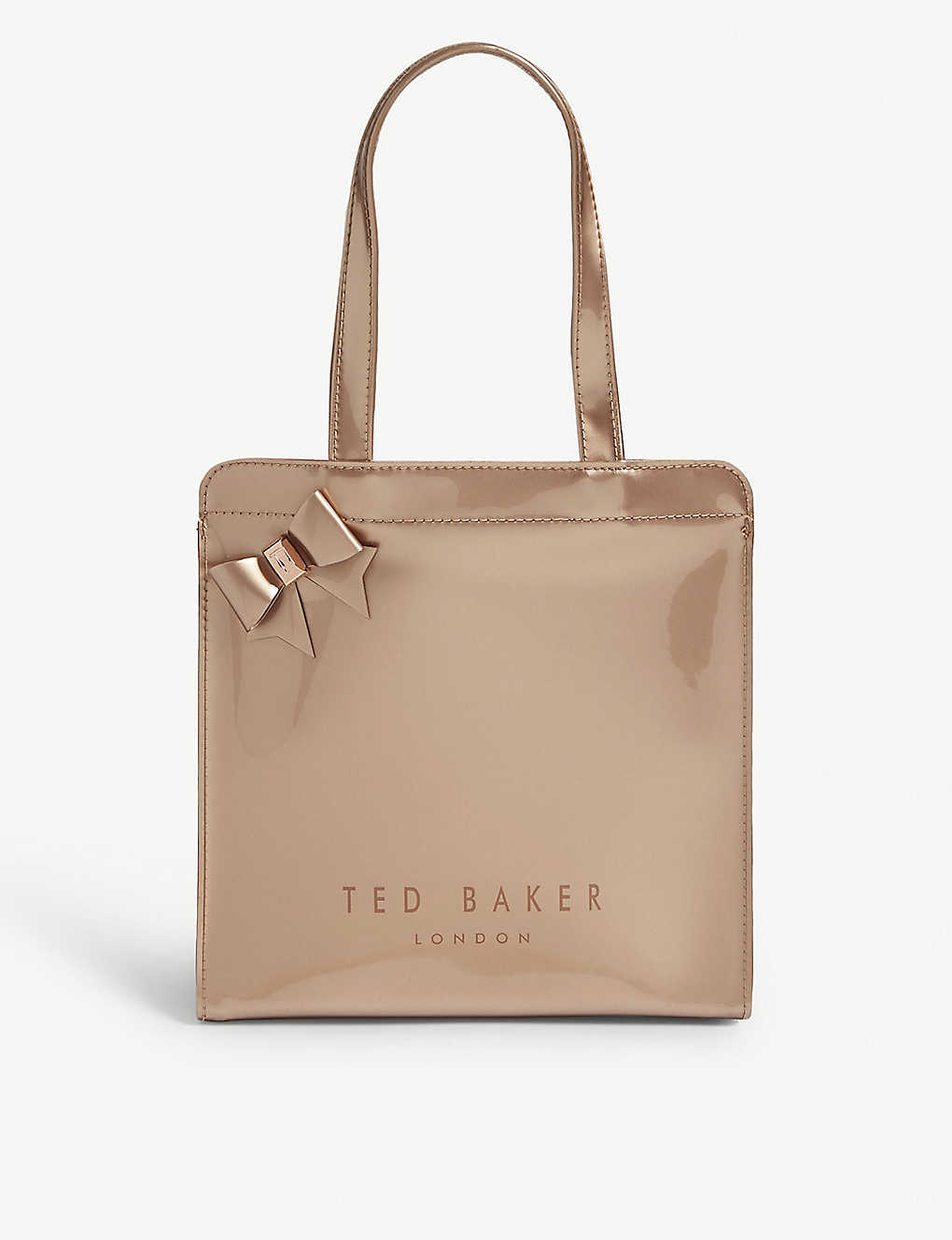 f6f5a2f5ab65 TED BAKER - Cleocon small bow shopper