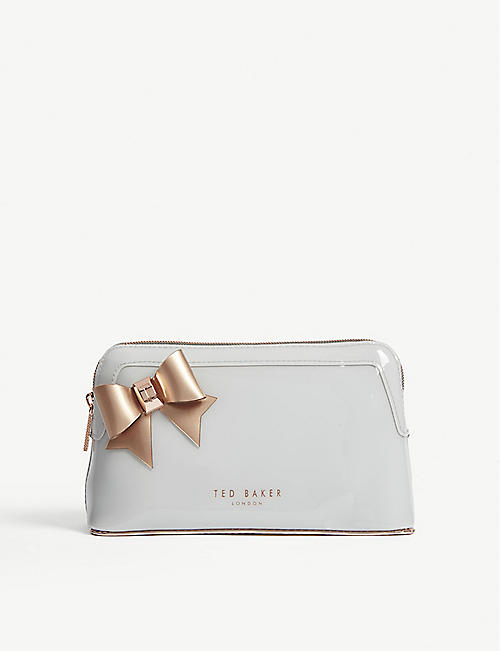 8228fd809 TED BAKER - Aubrie bow make-up bag