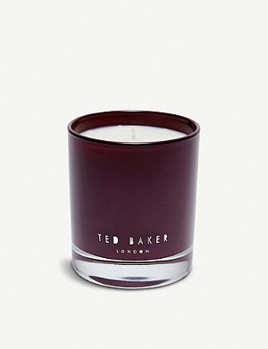 TED BAKER Pink pepper and cedarwood scented candle 200g