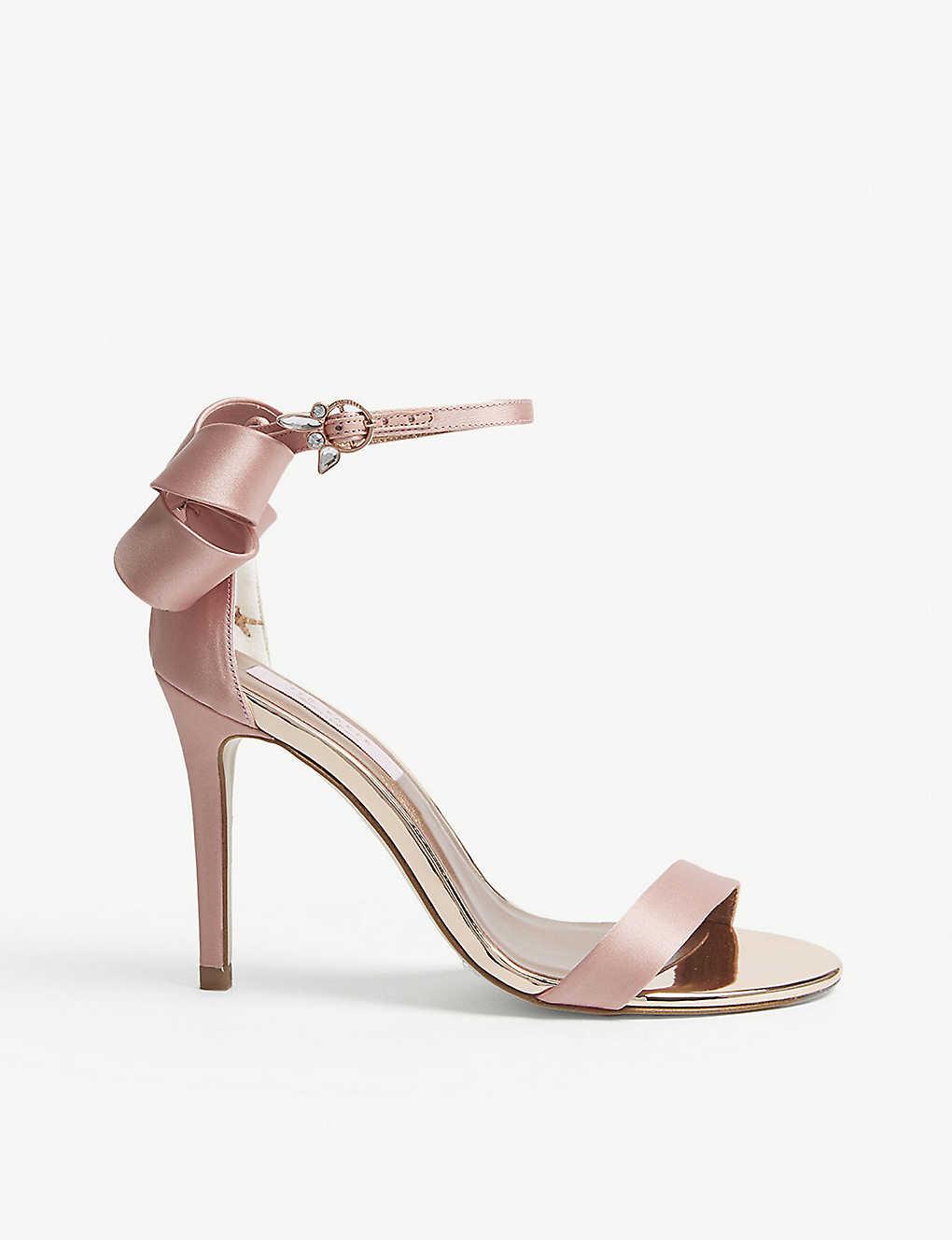 7fd457f24 TED BAKER - Sandalc bow satin sandals