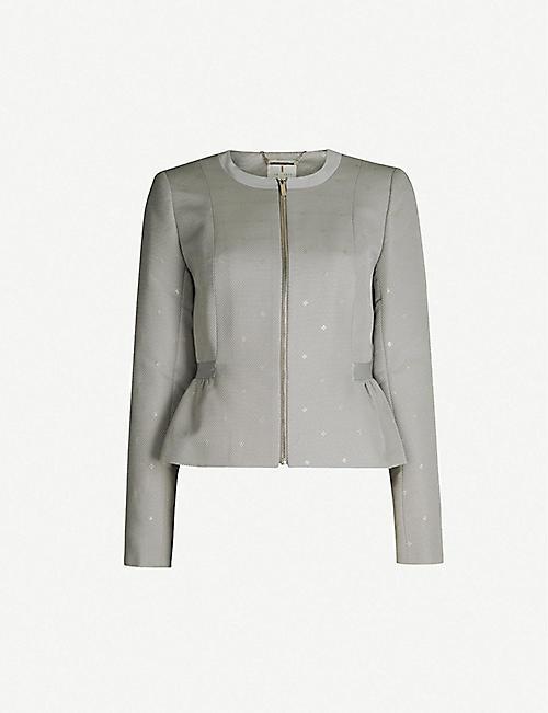 ac74bf053b1 TED BAKER Nadeaa woven jacket