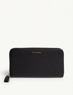 TED BAKER Sheea leather matinee purse
