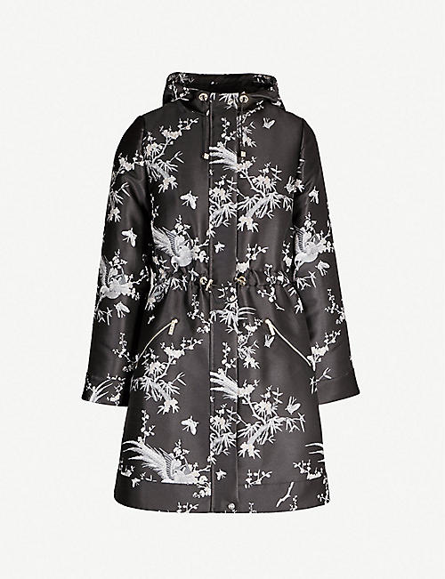 147a62fc831 TED BAKER Orient-printed jacquard coat