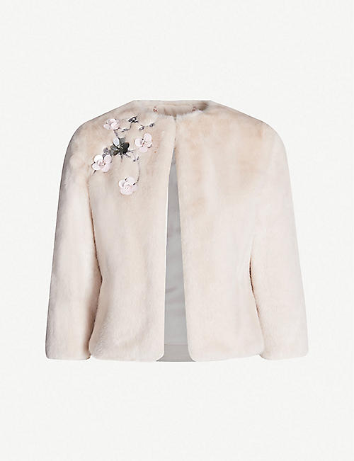 48fd0f34b Faux fur   shearling - Coats - Coats   jackets - Clothing - Womens ...