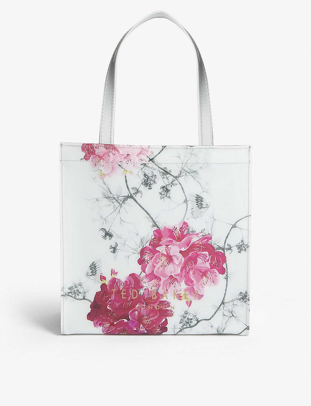 b3be961a6eb TED BAKER - Floral PVC tote | Selfridges.com