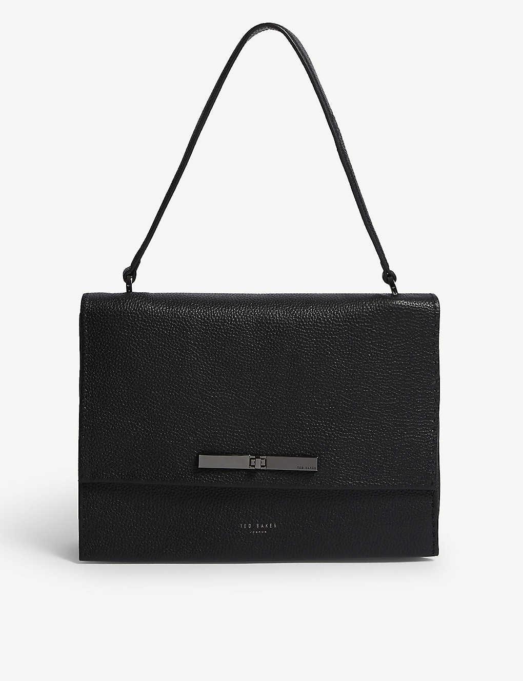 de76d1f86 TED BAKER - Gennaa metallic leather cross-body bag