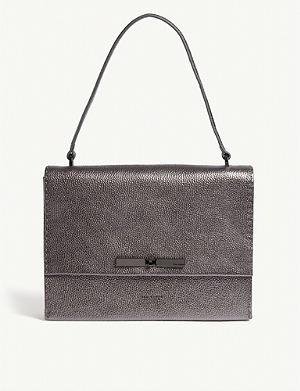 d26355913bcc0 TED BAKER Gennaa metallic leather cross-body bag