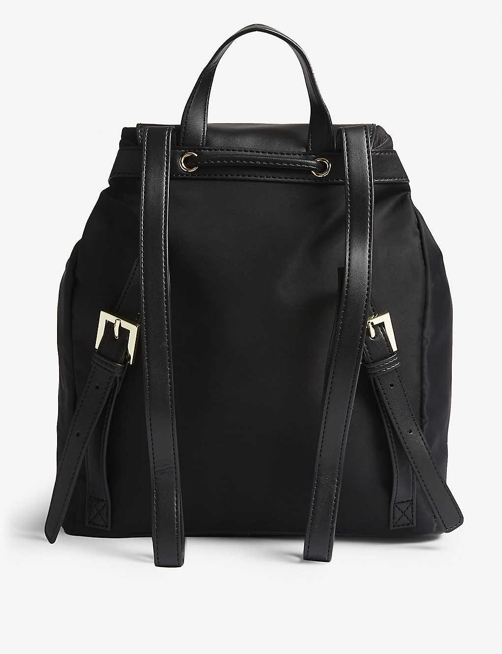 8b467154fefe TED BAKER - Jiejie nylon drawstring backpack