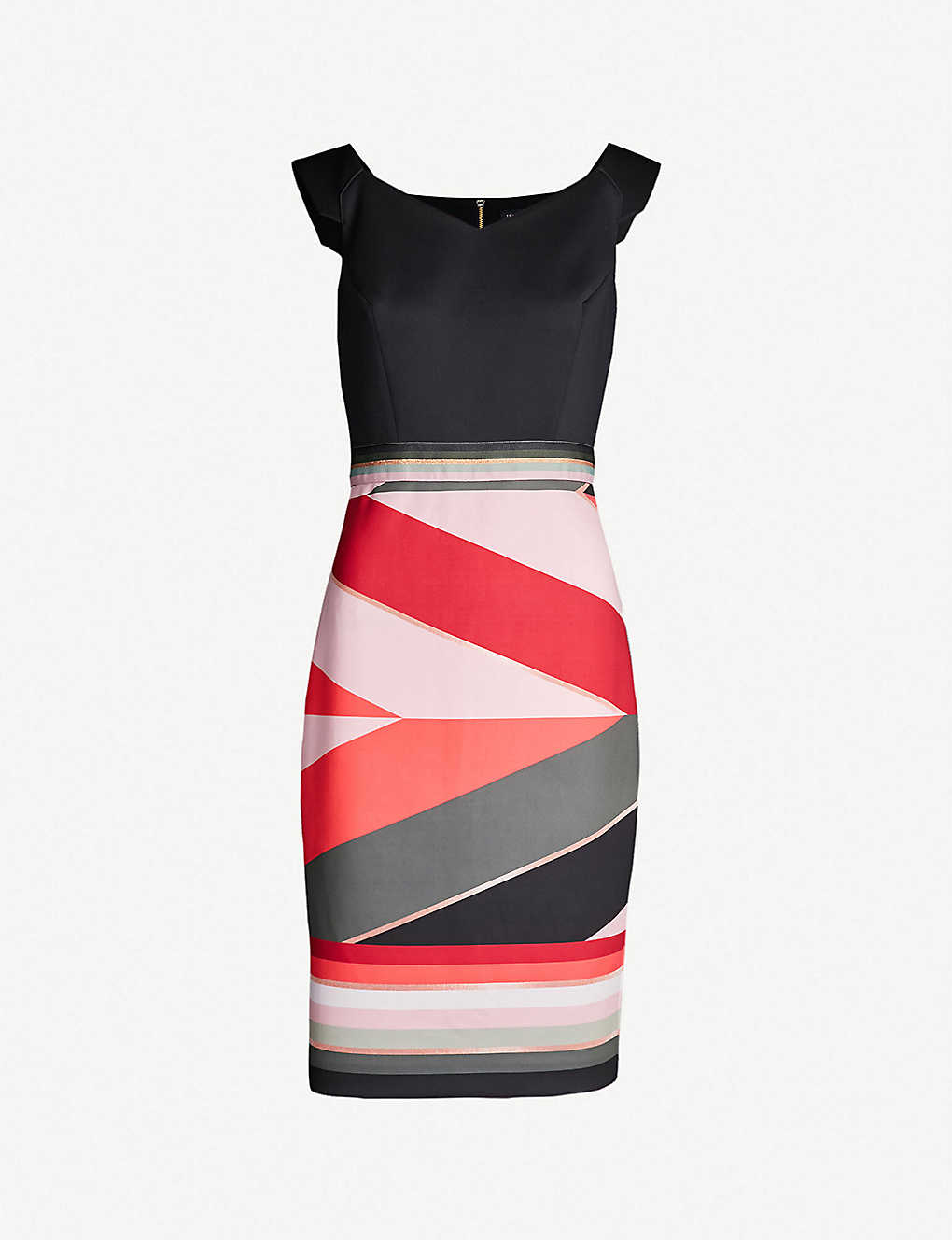 96d62c102650 TED BAKER - Sahara-print bodycon jersey dress