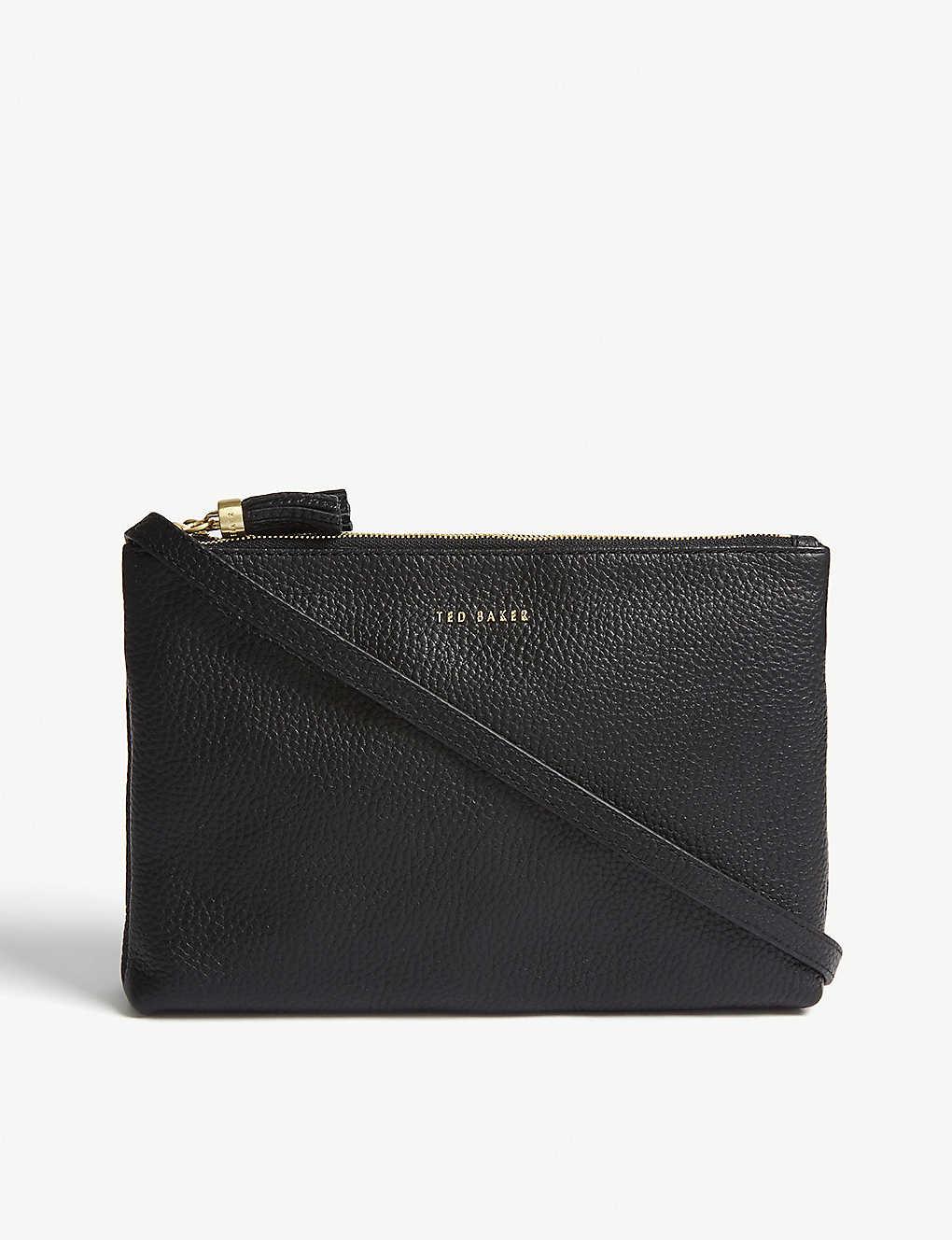 bcd4a1ec1 TED BAKER - Maceyy leather cross-body bag