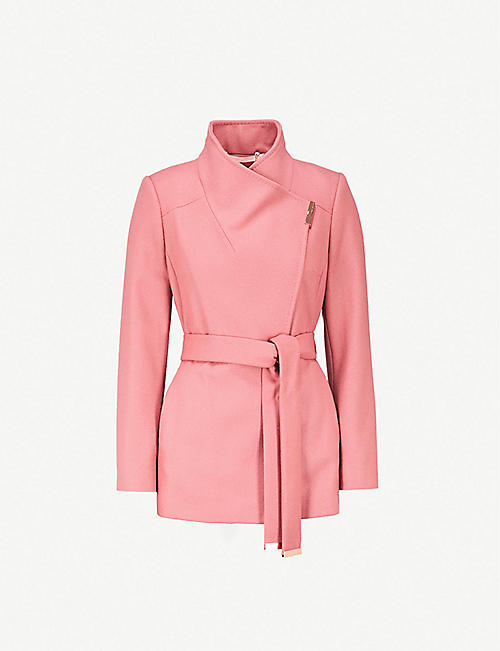 0bb997f9d12f TED BAKER - Coats - Coats   jackets - Clothing - Womens - Selfridges ...