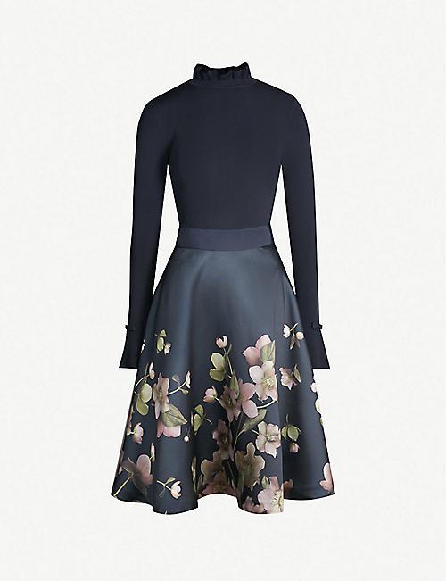 7a37ab24cd7eea TED BAKER - Midi - Dresses - Clothing - Womens - Selfridges
