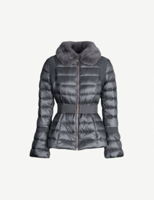 TED BAKER Yelta feather down quilted jacket