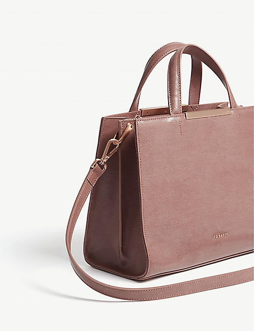 31b0cbb87a61 TED BAKER Madalyn leather tote