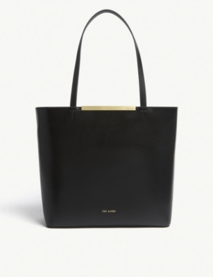 b83f3dd05c9fe4 TED BAKER - Melisa large leather tote